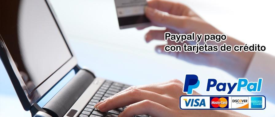 Paypal y pago con tarjetas de crédito