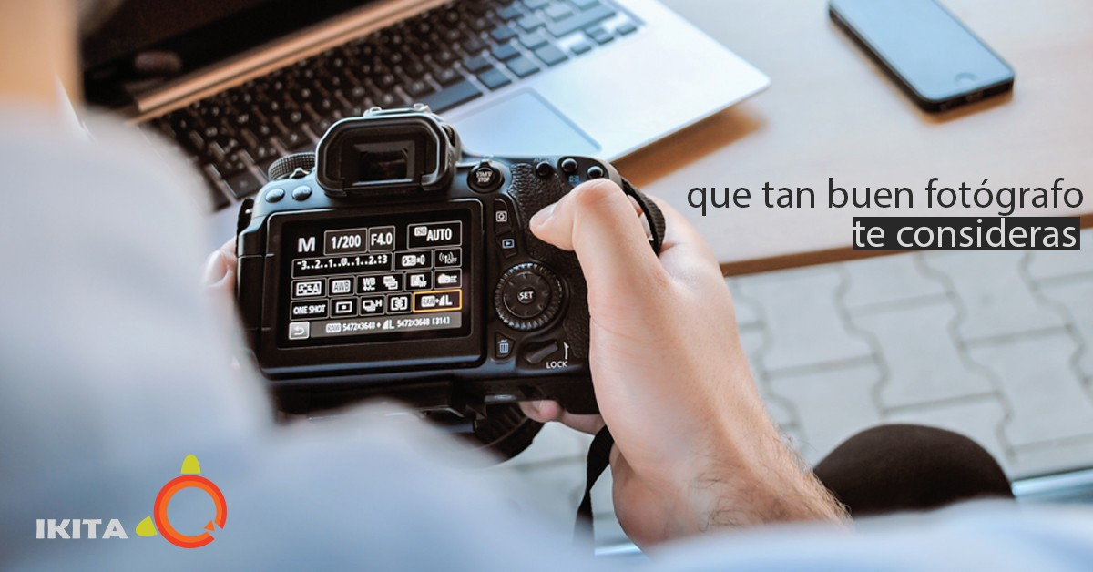 ¿Qué tan buen fotógrafo te consideras?