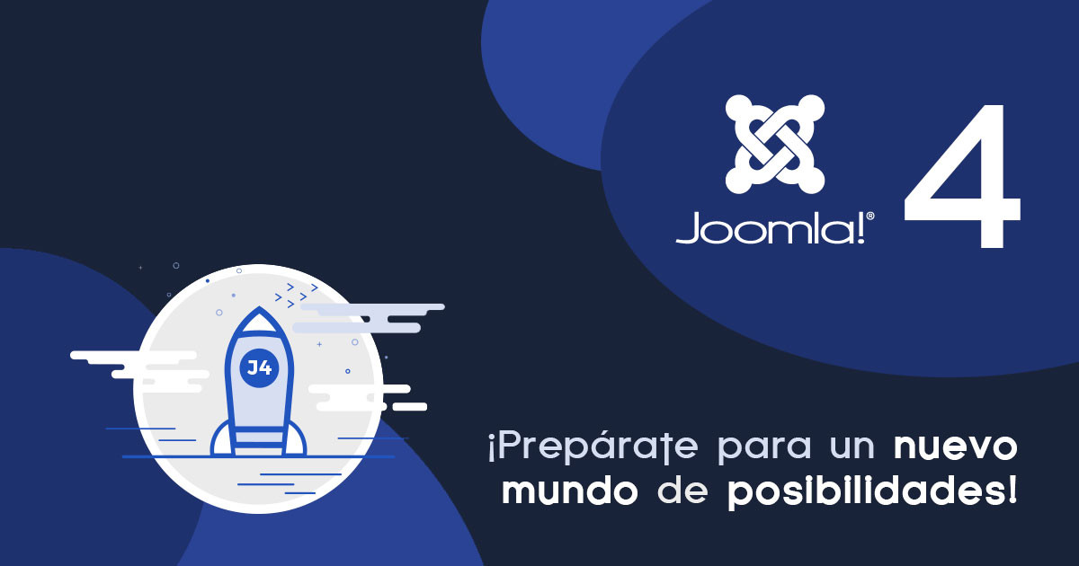 Joomla 4 está oficialmente listo