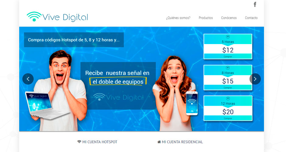 Vive Digital - Internet por Hotspot
